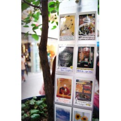 Mur d'images Instax Mini