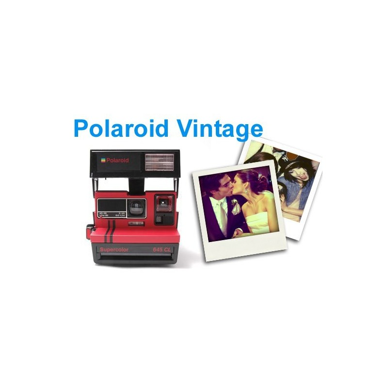 Pack Location Polaroid Vintage