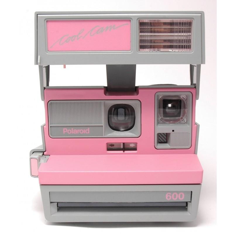 polaroid 600 cool cam pink we love pola. Black Bedroom Furniture Sets. Home Design Ideas