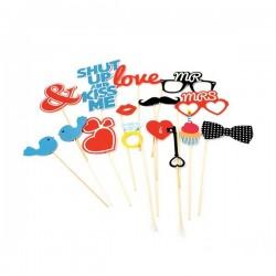 Accessoires photobooth Love...
