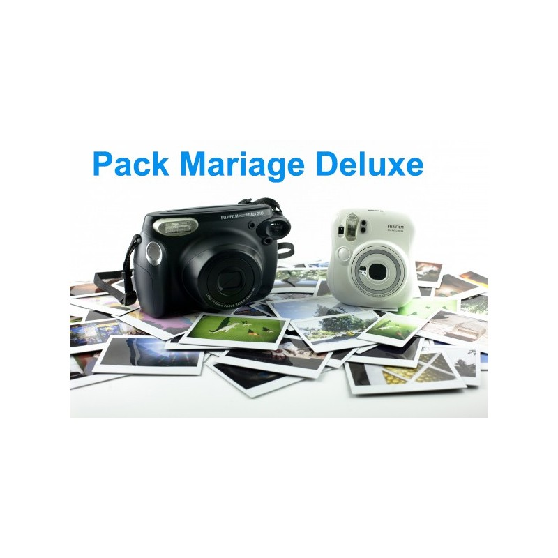 Pack Location Polaroid spécial mariage Deluxe