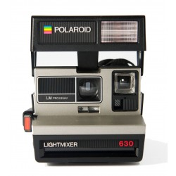 Polaroid 630 Lightmixer Silver
