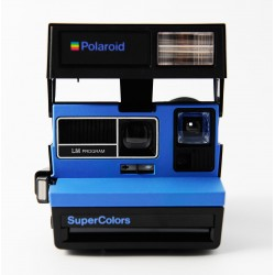 Polaroid 600 Supercolors bleu