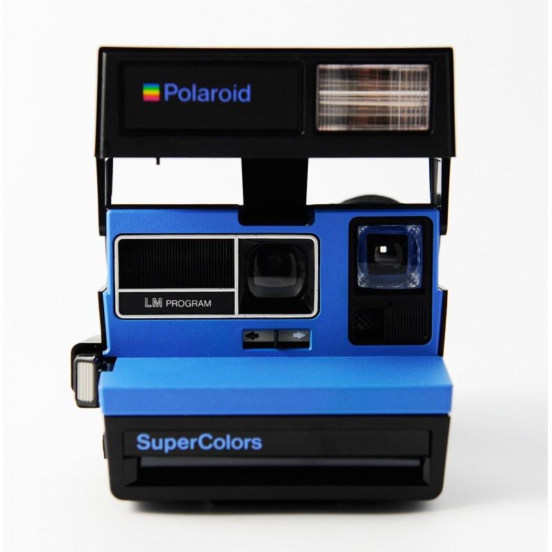 Polaroid 600 Supercolors bleu