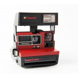 Polaroid 600 Supercolors rouge
