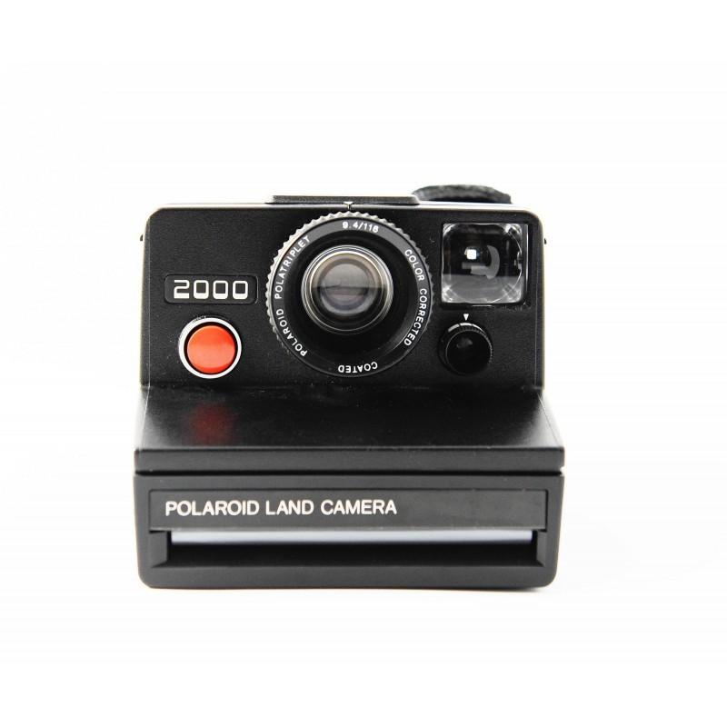 polaroid 2000 land camera black we love pola. Black Bedroom Furniture Sets. Home Design Ideas