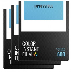 Impossible film Polaroid 600 Color