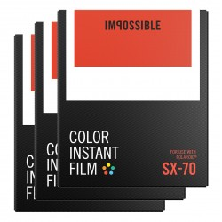 Film Impossible pour Polaroid SX-70 Color