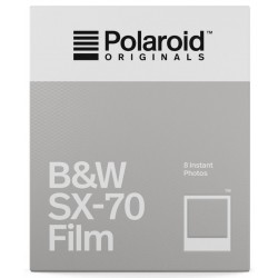 Film Polaroid Originals SX-70 Noir et Blanc
