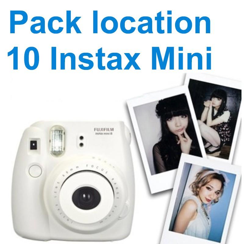 Location appareil photo instantané Instax mini pour votre évènement