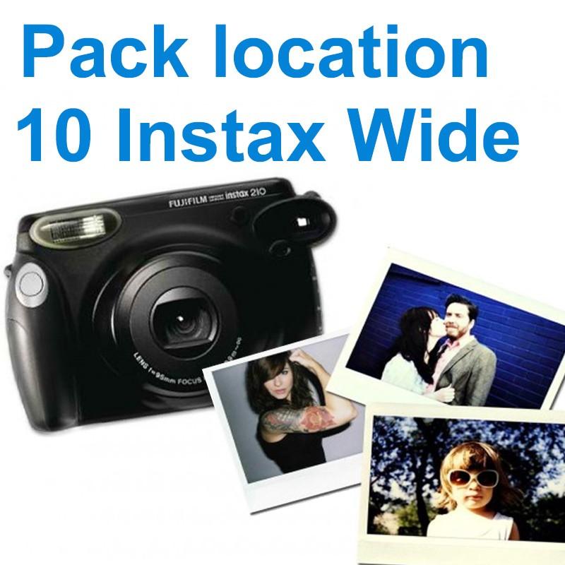 Location appareil photo instantané Instax wide