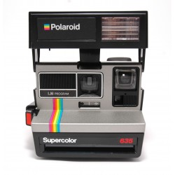 Polaroid 635 Supercolor Silver