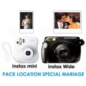 Pack Location Instax spécial mariage