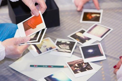 Des Polaroid pour votre team building