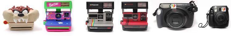 Location Polaroid - Pourquoi louer un Pola ou un Instax?